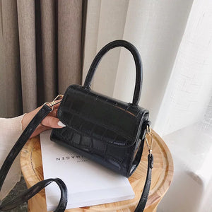 Mica Mini Top Handle Bag - Black