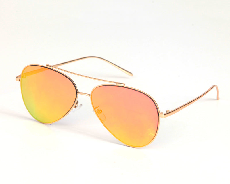 Cali Aviators - Red / Orange