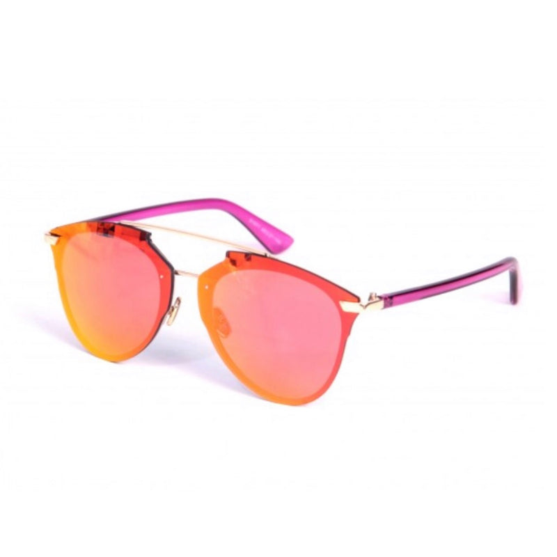Classic Reworked Sunglasses - Pinky Red