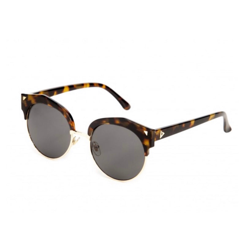 New York Sunglasses - Tortoiseshell & Silver