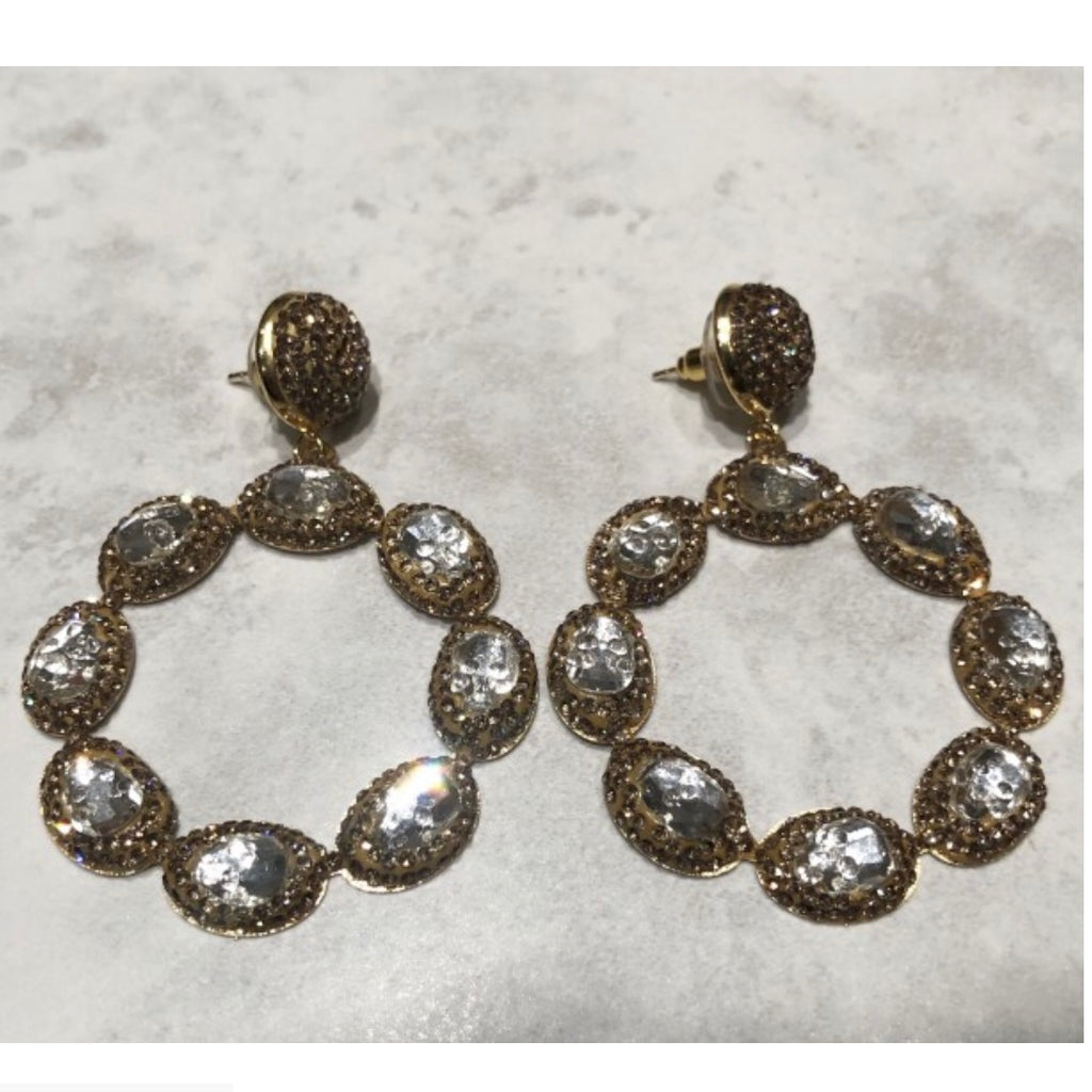 Sienna Earrings - Gold / Silver