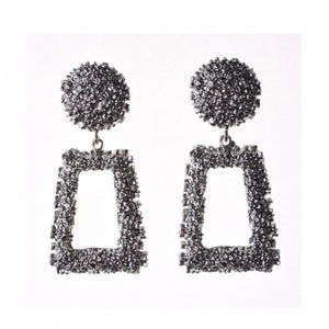 Ritzy Earrings - Silver