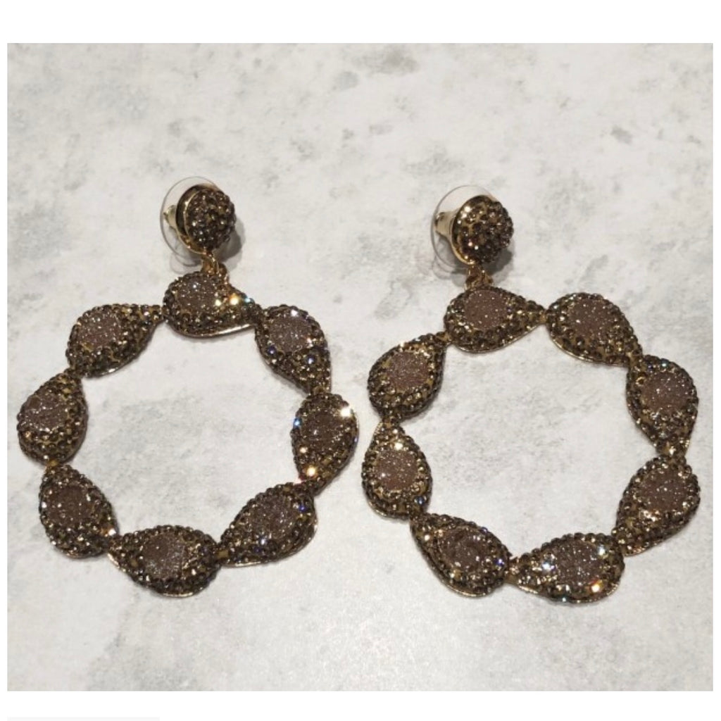 Sienna Earrings - Gold