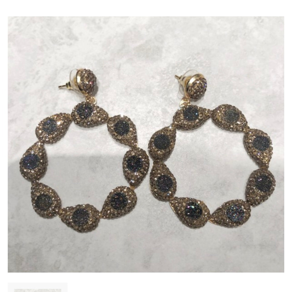 Sienna Earrings - Gold / Multi