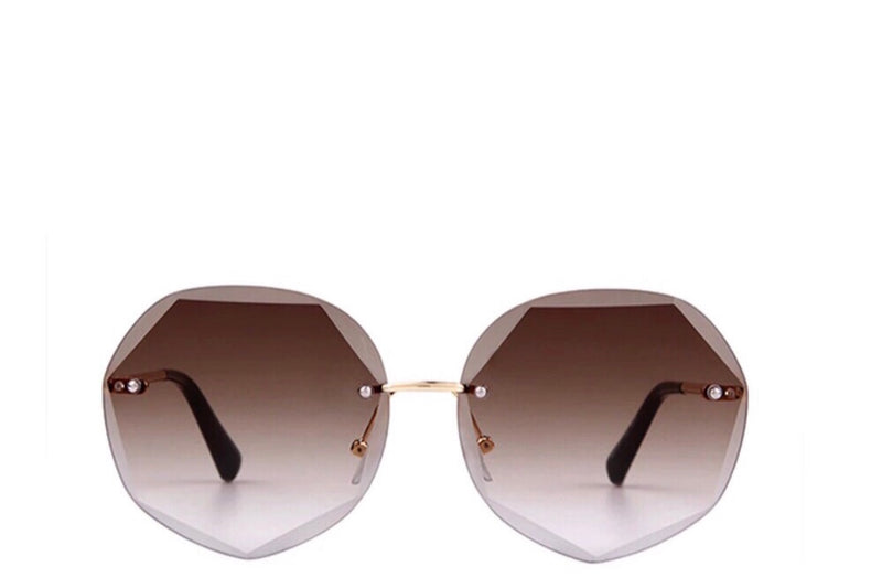 Cali Ombré Tinted Sunglasses - Brown