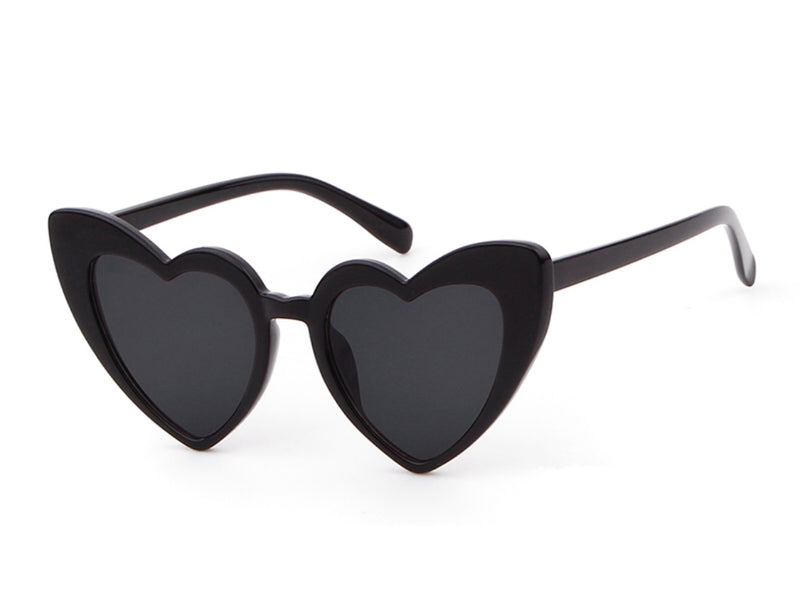 Maldives Heart Sunglasses - Black