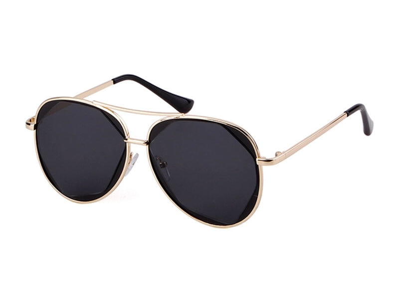 Vegas Aviator Sunglasses - Black