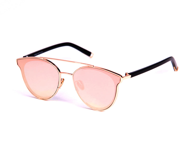 Cannes Sunglasses - Rose Gold