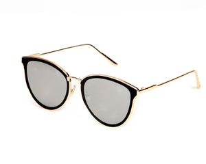 Calabasas Sunglasses - Silver Mirrored