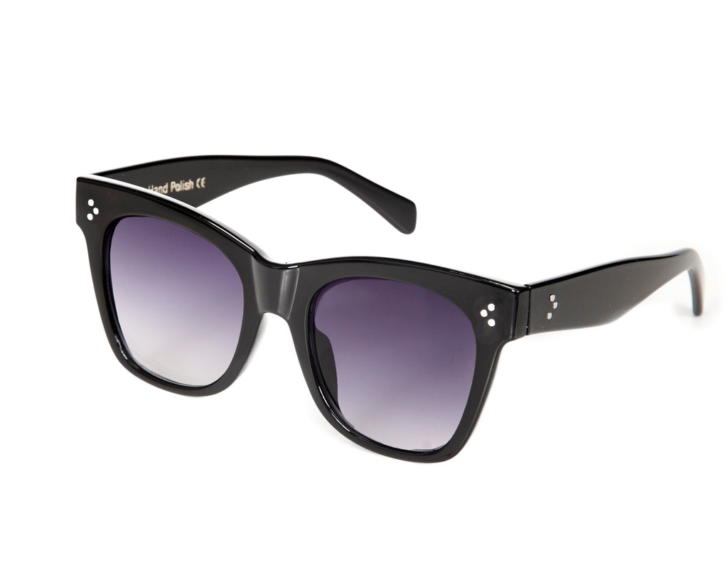Abu Dhabi Ombre Black Sunglasses