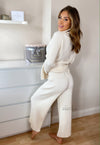 Milly Cream Loungewear Set