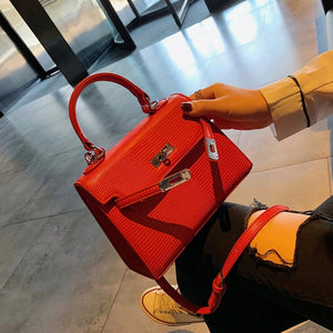 Red Croc Mini Bag - New Collection