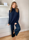 Sadie Black Loungewear Set