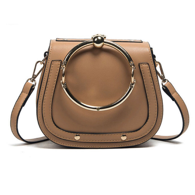 New: Camille Crossbody Bag - Tan