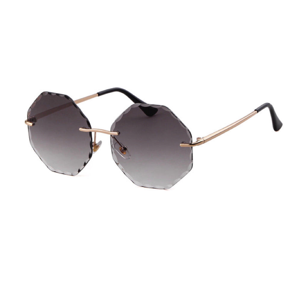Rhodes Tinted Sunglasses - Grey