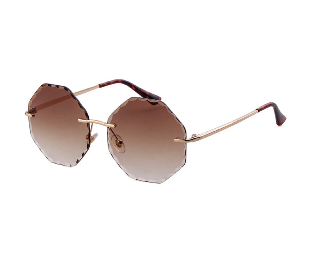 Rhodes Tinted Sunglasses - Brown