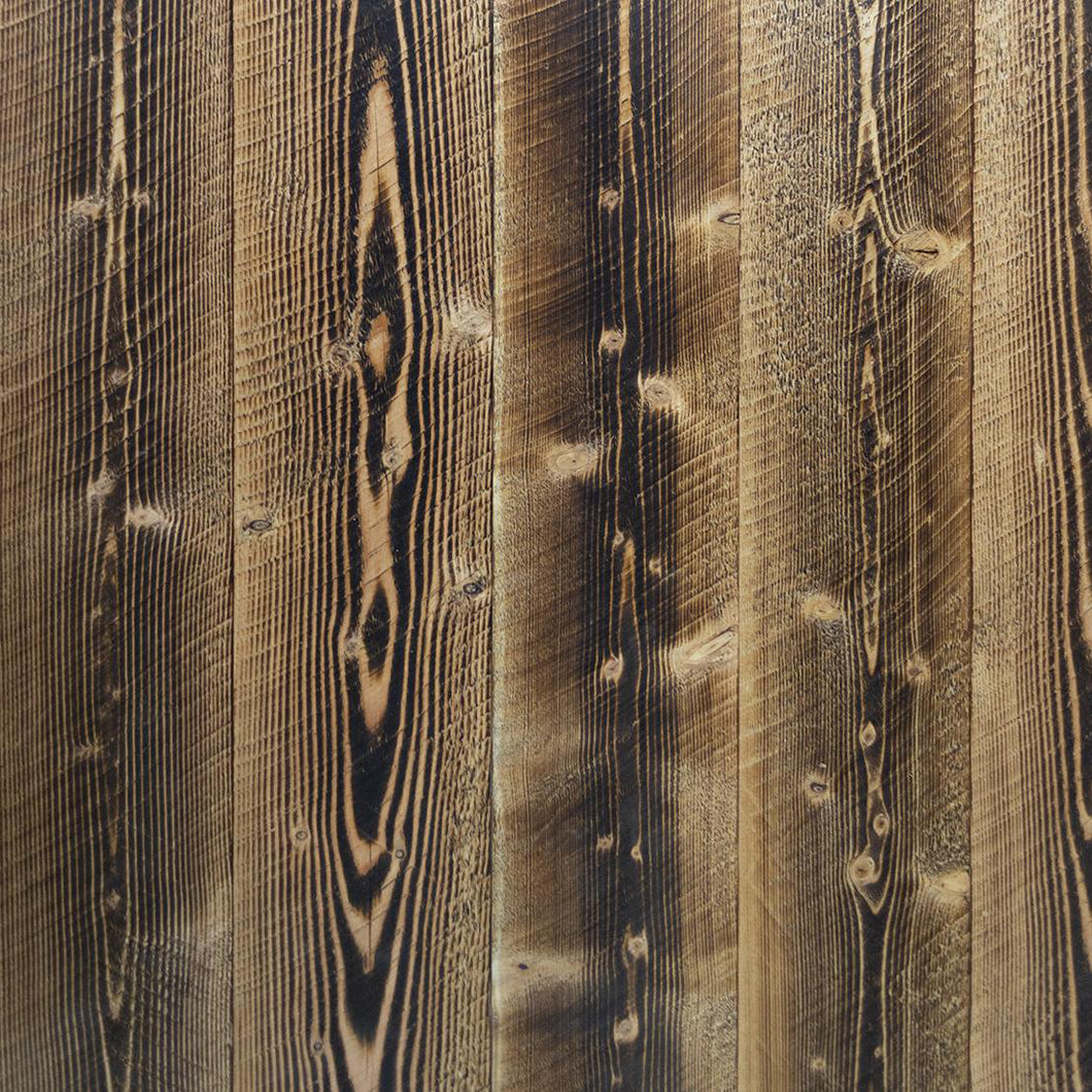Shou Sugi Ban Larch Shallow Char (Sample)