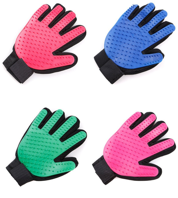 hair cleaning glove comb for cats and dogs