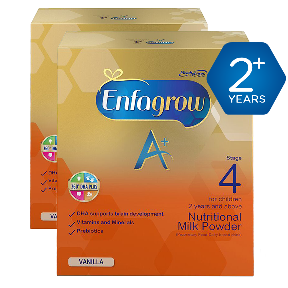 Enfagrow 2+ years - Vanilla 750g - Pack of 2