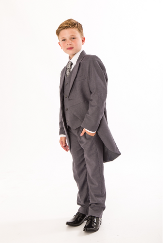 Page Boys - Grey Tailcoat, Age 8-12