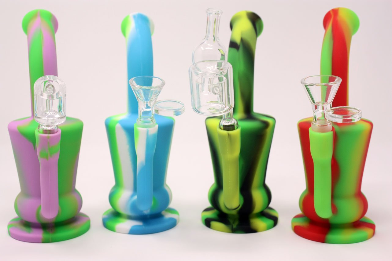 Bubble Can Silicone rig