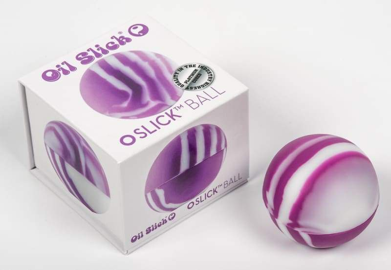 Slick® Ball Factory 2nds - from silicone pipes to nonstick packaging.  Oilslick makes materials for extraction and recreational markets.  medical silicone containers, dab mats, terp proof fep and ptfe parchment. Oil Slick Productsprinted parchment, clear parchment, ptfe, and precut fep squares.