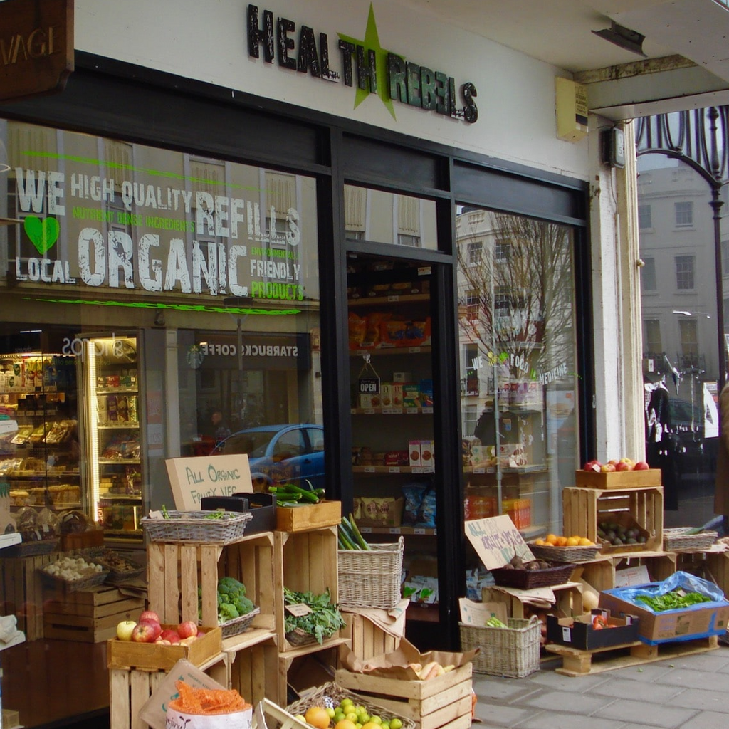 New Retailer: Health Rebels, Hove