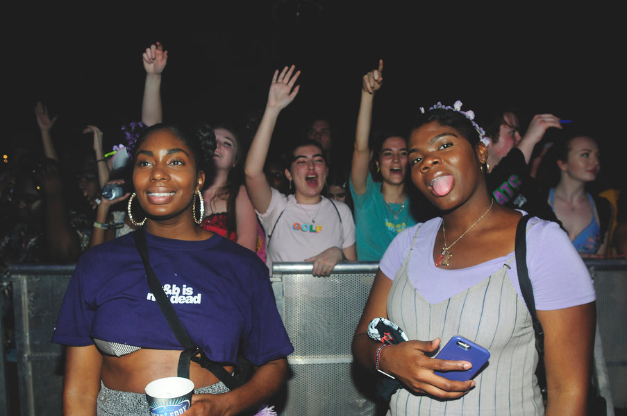 RnBae Brought Out All The Baes at iiiPoints Music Festival