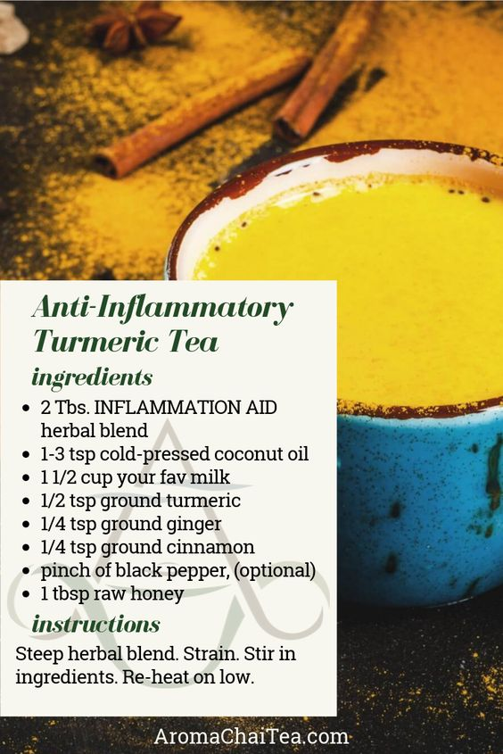 Aroma ChaiTea. Anti-Inflammatory turmeric Tea Recipe