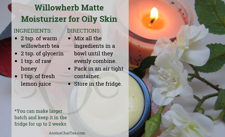 Willowherb Matte Moisturizer for Oily Skin