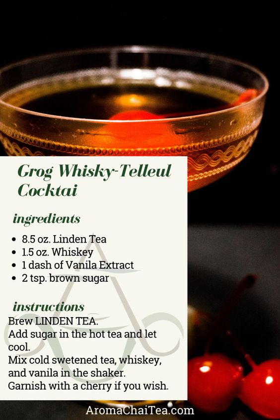 Herbal Tea Whiskey Recipe