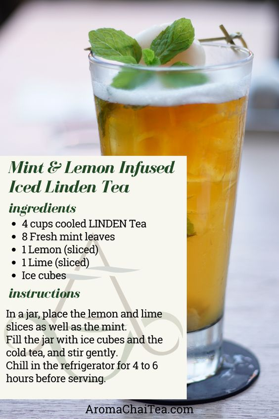 Linden Tea recipe by Aroma ChaiTea