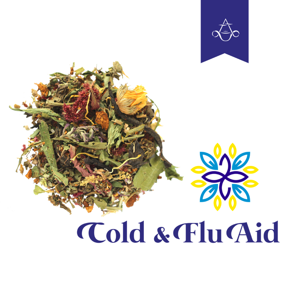 Anti-Viral Herbal Tea COLD & FLU AID | 2 oz. (55 gr.) | About 60 servings