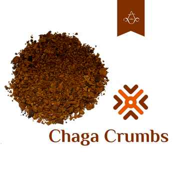 Siberian Chaga Powder. Product sold by Aroma ChaiTea