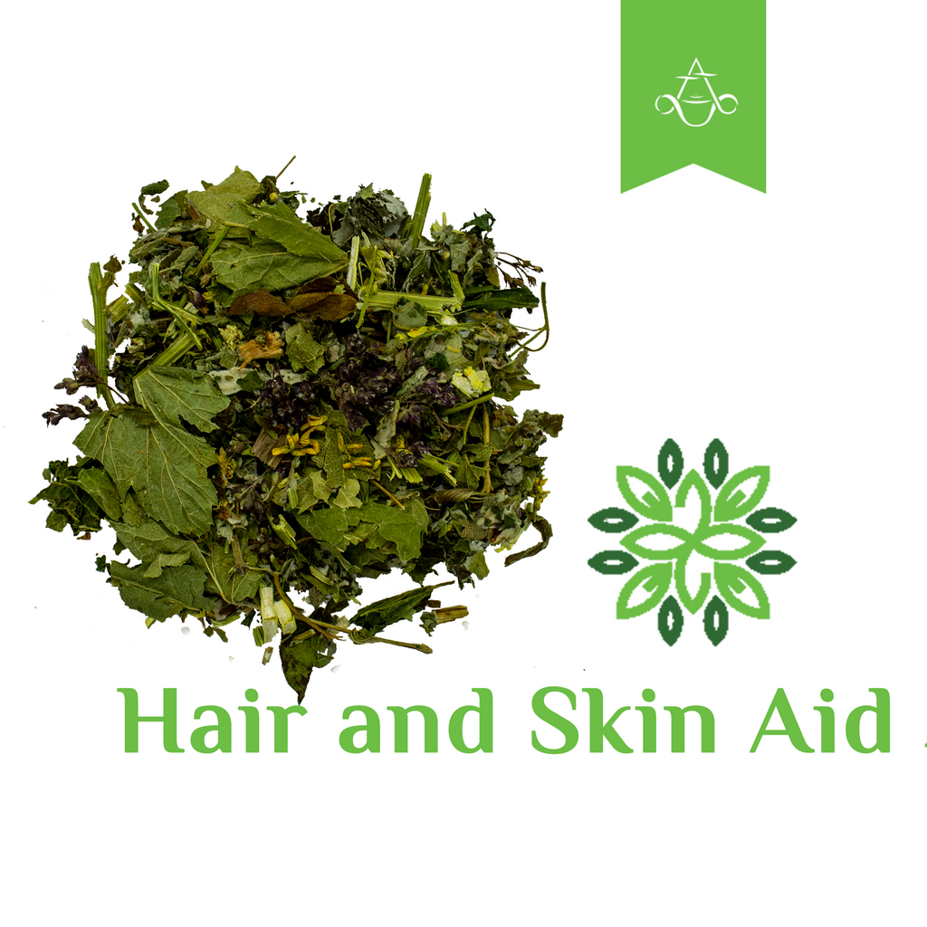 Aroma ChaiTea - Herbal Tea HAIR & SKIN AID Promotes Clearer Skin and Stronger Hair | 2 oz. (55 gr.)