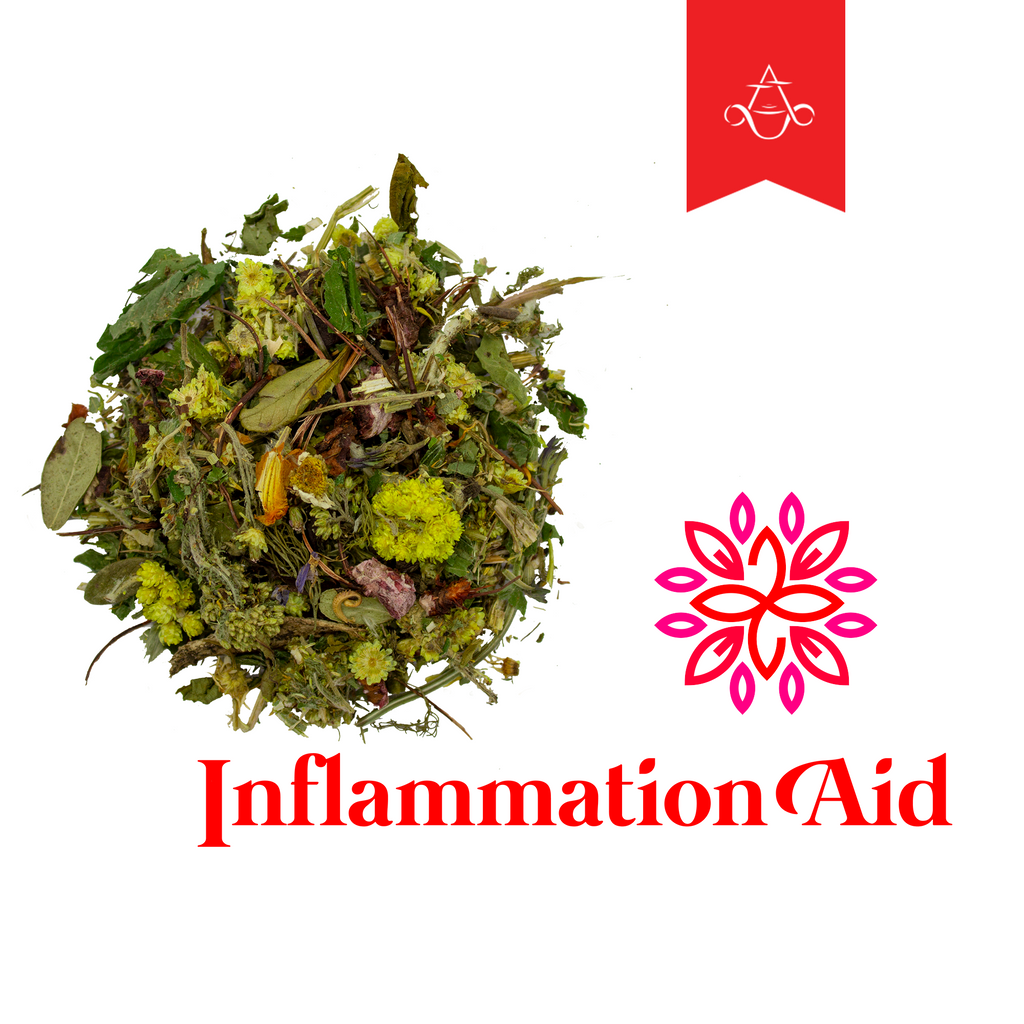 Immune Function Restoring Herbal Tea Blend INFLAMMATION AID | 2 oz. (55 gr.) - Aroma ChaiTea