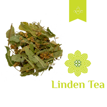 Linden Blossom Loose Leaf Herbal Tea by Aroma ChaiTea
