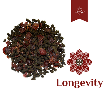 Rich in Antioxidants Herbal Tea LONGEVITY Protects Cells from Free Radicals | 3.5 oz. (100 gr.)