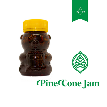 Pine Cone Syrup with Cones (Pine Cone Jam) | 4.6 oz. (120 gr.) - Aroma ChaiTea