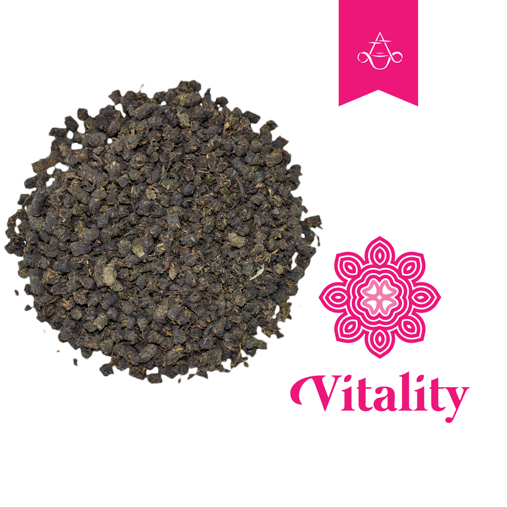 Rejuvenating Herbal Tea VITALITY Invigorates and Preserves Physical Health | 3.5 oz. (100 gr.) - Aroma ChaiTea