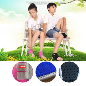 1Pair Chidren Kids Ankle Support Sport, Breathable Ankle Brace Protector For Football Basketball, Elastic Ankle Pad Safety Brace Guard - Relaxing Recoveries