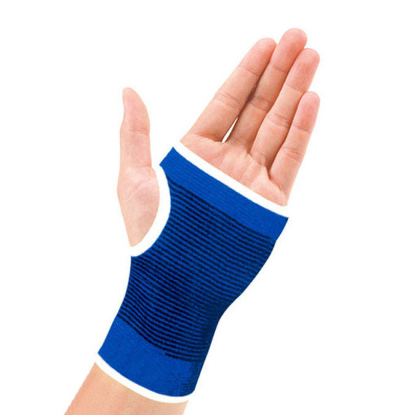 Support Wrist Gloves, Hand Palm Gear Protector Elastic Brace Gym Sports - Relaxing Recoveries
