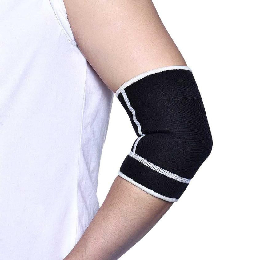 1PC Warm Durable Breathable Armband Elbow Protector for Gym And Sports # XTJ