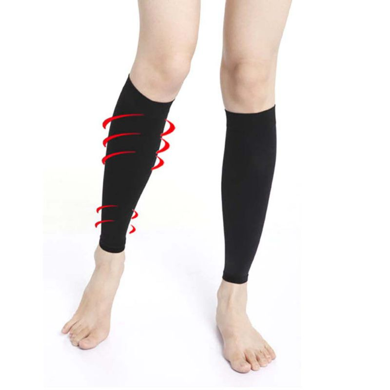 High Stretch Stockings To Relieve Leg Calf  & Varicose Veins, Elastic Stocking Leg Circulation Compression Support