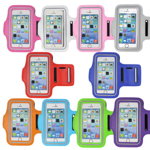 Waterproof Gym Sports Running Armband for iPhone 8 7 4 5 5S 5C SE 6 6s 8 Plus X XS Max XR Case Phone Case Cover Holder Armband