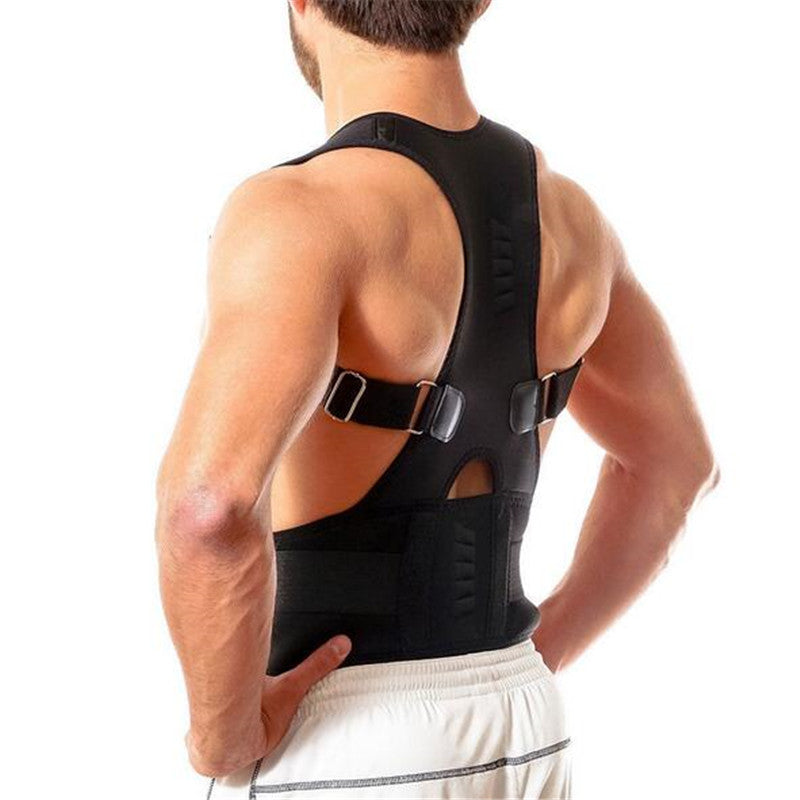Adjustable Back Posture Corrector Spine Support Brace With Back And Shoulder Support For Posture Correction  Men And Women - Relaxing Recoveries