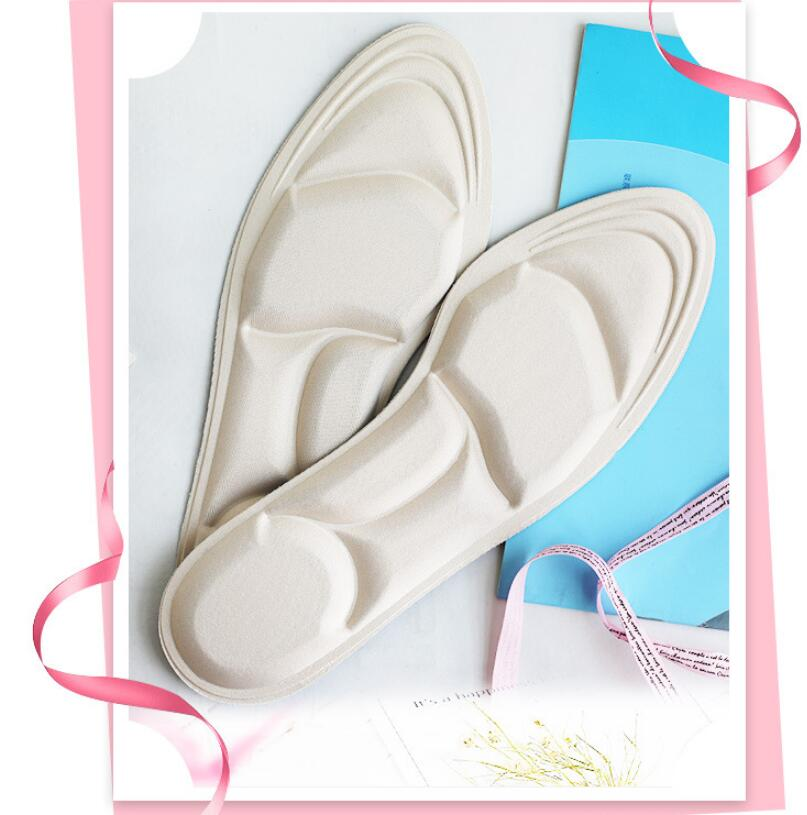 1 Pair Soft High Heel 4D  Shoe Insoles For Women,  Arch Support Orthotic Massage Inserts Shock Comfort Cushion Pads
