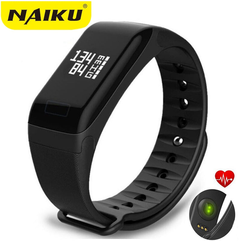 NAIKU Fitness Tracker Wristband Heart Rate Monitor Smart Bracelet , Blood Pressure With Pedometer Bracelet - Relaxing Recoveries
