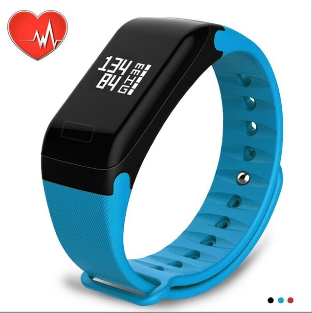 NAIKU Fitness Tracker Wristband Heart Rate Monitor Smart Bracelet , Blood Pressure With Pedometer Bracelet