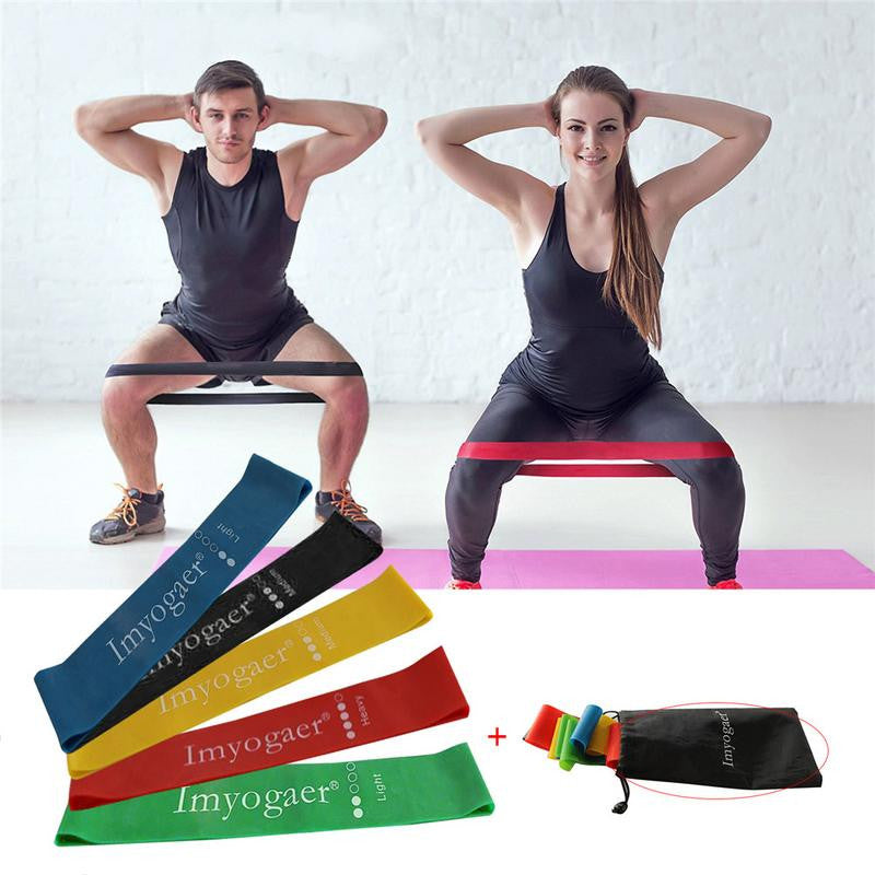 Resistance Bands For Fitness Equipment Strength Training, Crossfit, Yoga Loops - Relaxing Recoveries